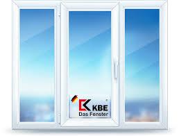 трёхстворчатые окна ПВХ из профиля KBE